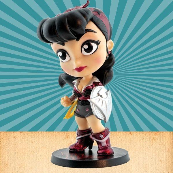 Cryptozoic Ravishing Red Wonder Woman DC Lil Bombshells Vinyl Figure