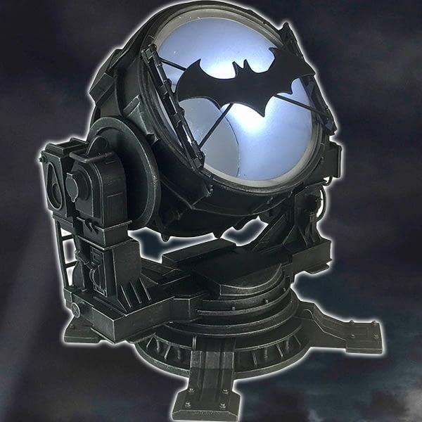 DC Batman Arkham Knight Bat-Signal Light Up Statue