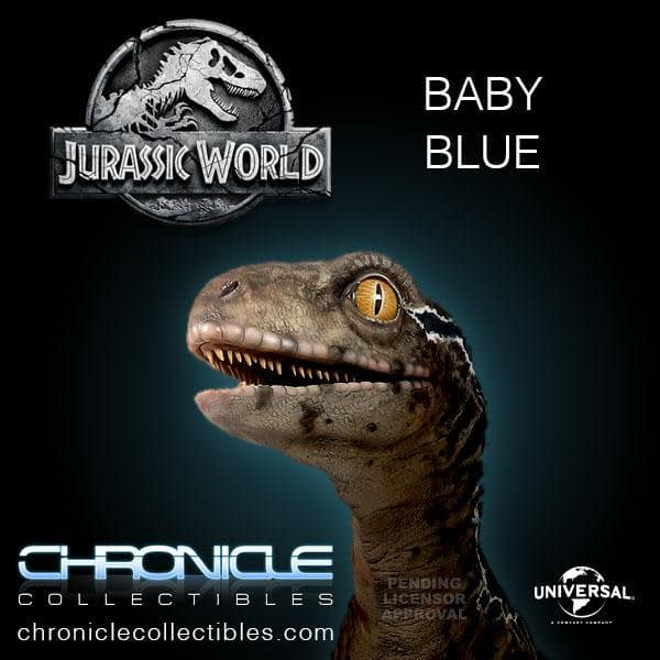 Jurassic World Fallen Kingdom Baby Blue Statue 4
