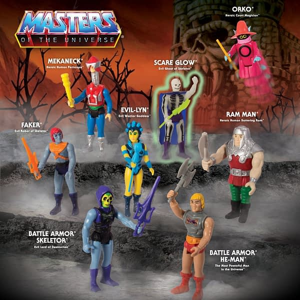 Masters of the Universe ReAction Figures Wave 4 2