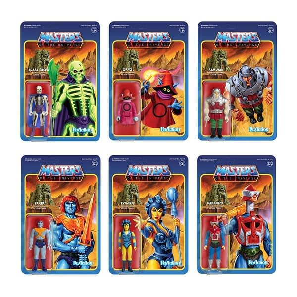 Masters of the Universe ReAction Figures Wave 4 1