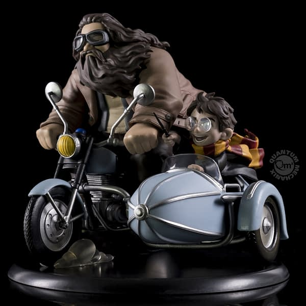 Quantum Mechanix Q Fig SDCC Exclusive Harry Potter and Hagrid