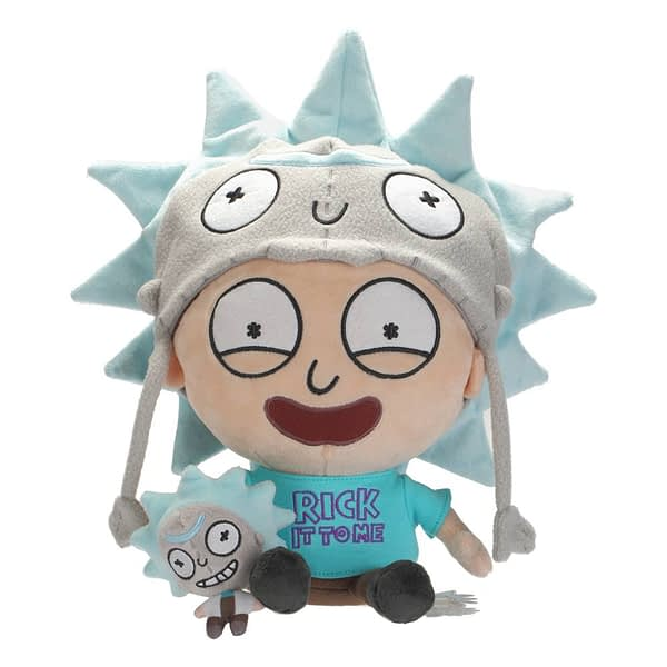 Symbiote Studios SDCC Exclusive Rick and Morty Pocket Mortys Rick Fan Plush