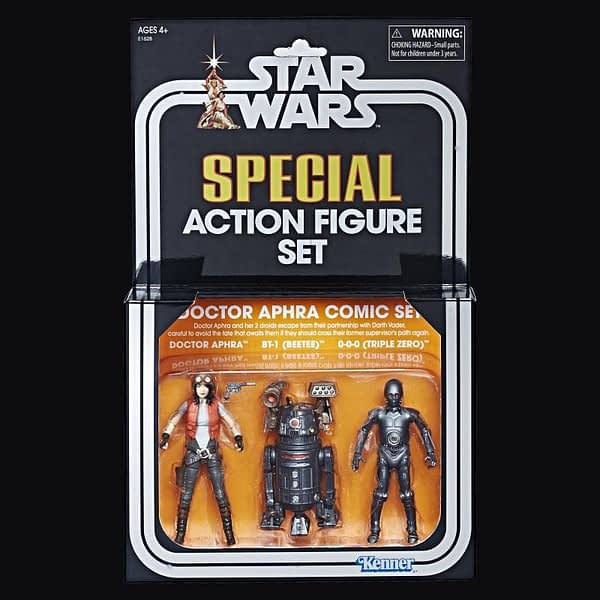 Hasbro Star Wars SDCC Exclusive Vintage Collection Doctor Aphra Set 2