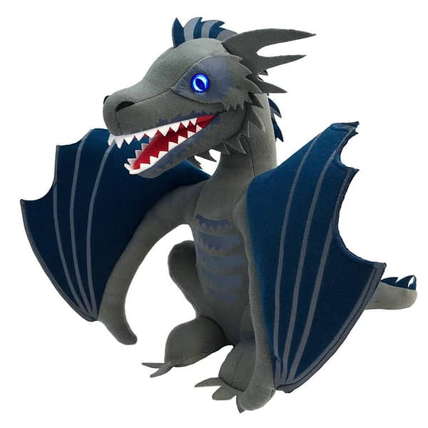 Factory Entertainment Game of Thrones Icy Viserion Dragon Light Up Plush SDCC Exclusive