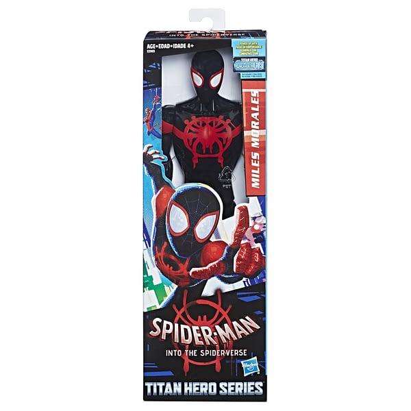 MARVEL SPIDER-MAN INTO THE SPIDER-VERSE TITAN HERO 12-INCH Figure - in pkg