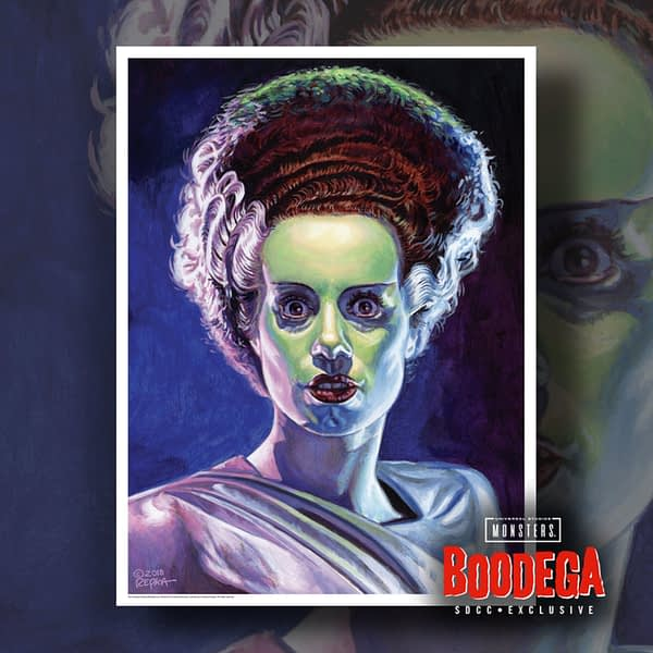 Super7 Universal Monsters Bodega SDCC Ed Repka Prints Bride