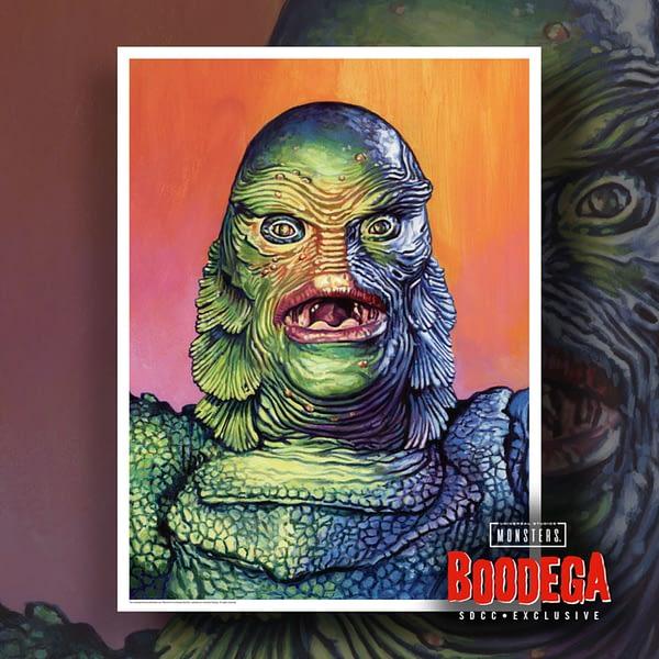 Super7 Universal Monsters Bodega SDCC Ed Repka Prints Creature