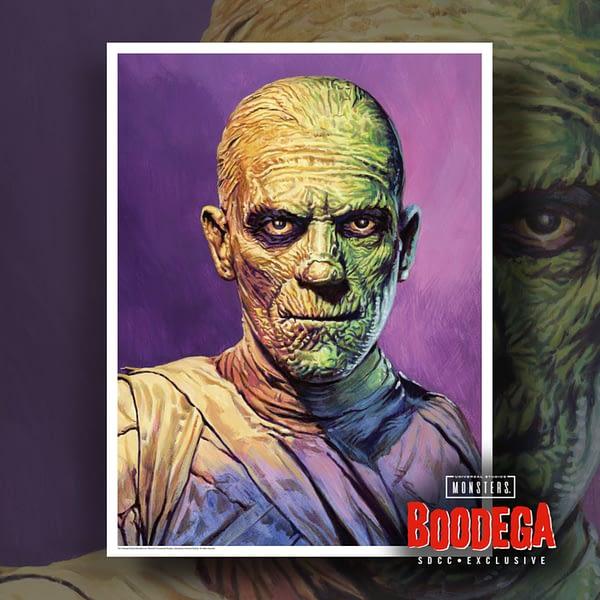 Super7 Universal Monsters Bodega SDCC Ed Repka Prints Mummy