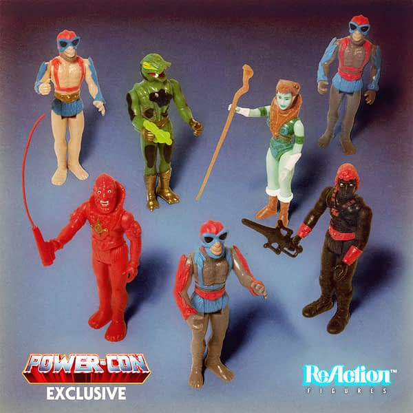 Super7 Masters of the Universe Power-Con Exclusive ReAction Figures