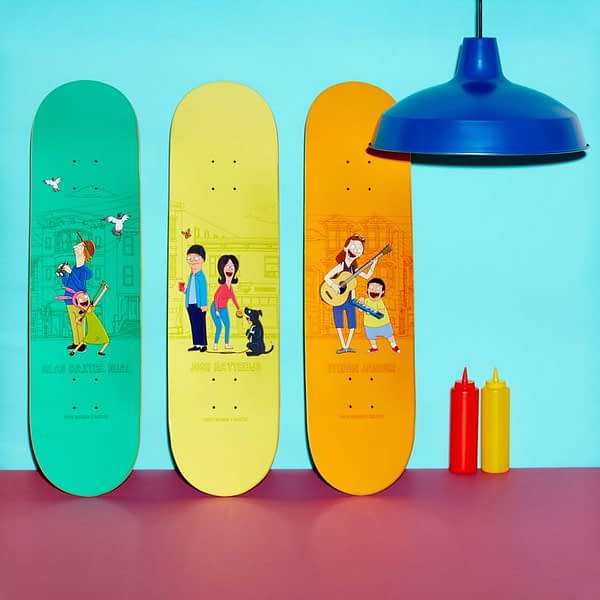 Bob's Burgers Skateboards 3 (Habitat)