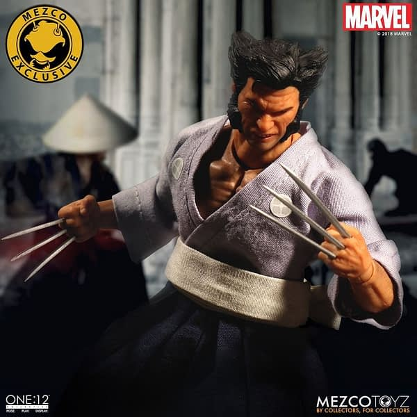 One 12 Collective Ronin Wolverine NYCC Exclusive 11