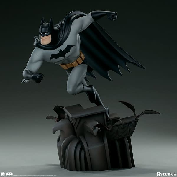 Sideshow Collectibles Batman The Animated Series Batman Statue 1