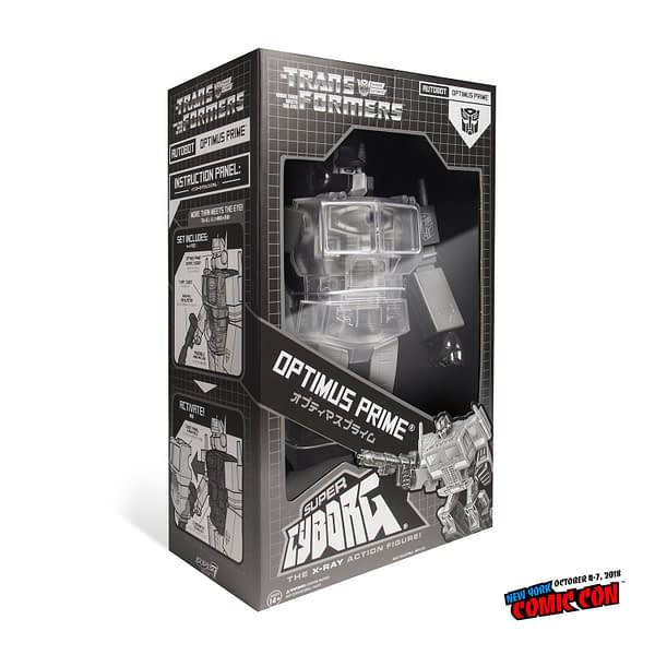 Super7 Cyborg Dead Optimus Prime NYCC Exclusive