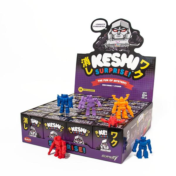 Super7 Transformers Keshi Surprise Decepticons NYCC Exclusive 2