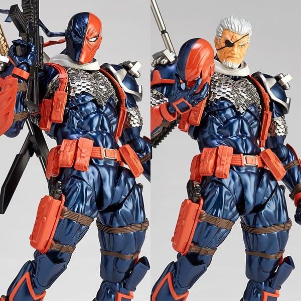 Amazing Yamaguchi Revoltech Deathstroke 8
