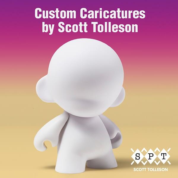 Kidrobot LA Comic Con Custom Scott Tolleson