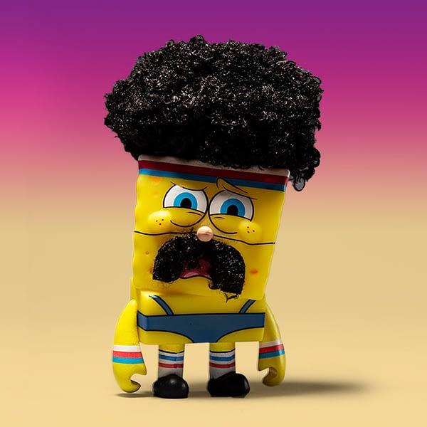 Kidrobot LA Comic Con Exclusive Spongebob