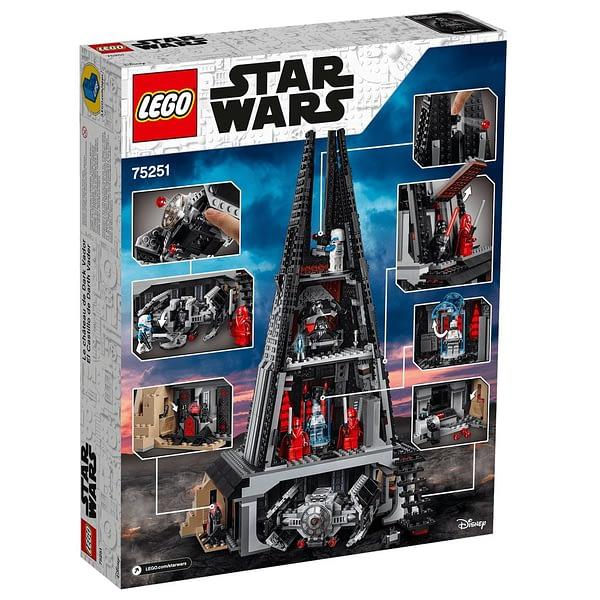 LEGO Star Wars Darth Vader's Castle 3