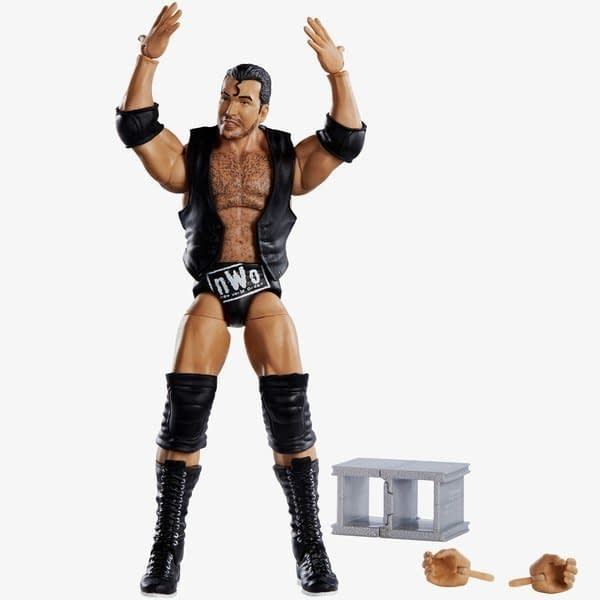 Mattel WWE Wrestlemania 35 Elite Figure Scott Hall 2