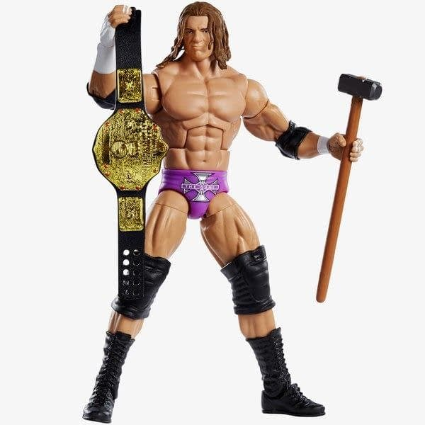 Mattel WWE Wrestlemania 35 Elite Figure Triple H 2