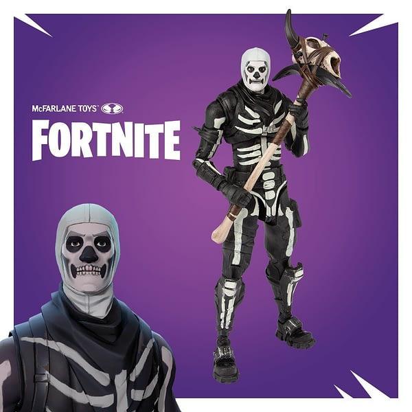 McFarlane Toys Fortnite Skull Trooper Figure