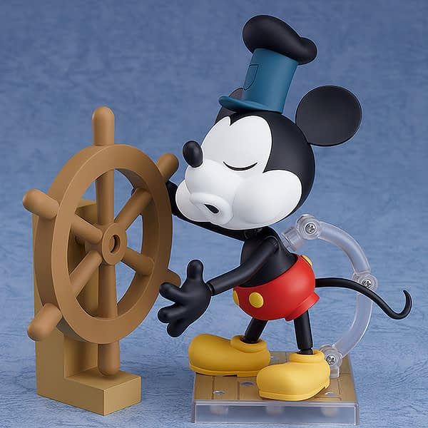 Mickey Mouse Steamboat Willie Nendoroid Figure 2