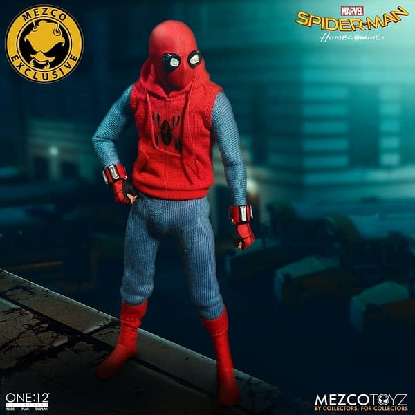 One-12 Collective Spider-Man Homcoming Homemade Suit 5