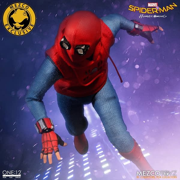 One-12 Collective Spider-Man Homcoming Homemade Suit 9