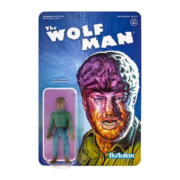 Super7 Universal Monsters Wave 1 Wolf Man 1