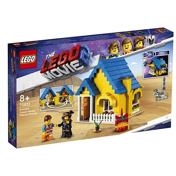 LEGO Movie 2 Emmets Dream House 1