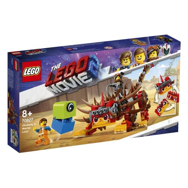 LEGO movie 2 Unikitty and Warrior Lucy 1