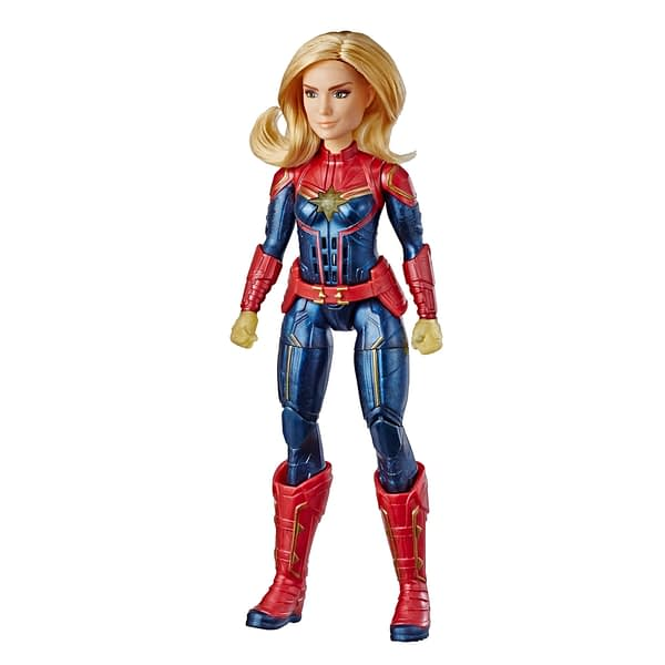 CAPTAIN MARVEL MOVIE PHOTON POWER FX CAPTAIN MARVEL ELECTRONIC DOLL - oop
