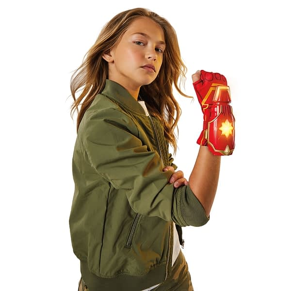 CAPTAIN MARVEL MOVIE PHOTON POWER FX GLOVE - oop
