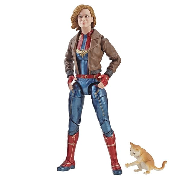 Marvel Captain Marvel 6-inch Legends Captain Marvel in Bomber Jacket Figure