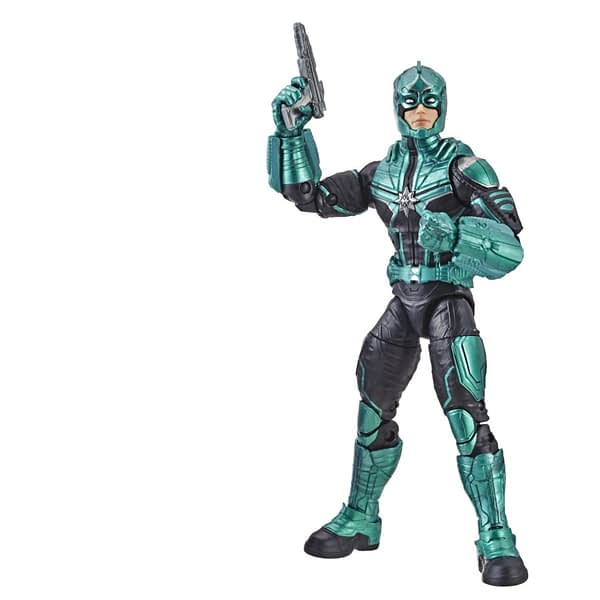Marvel Captain Marvel 6-inch Legends Star Force Commander Figure