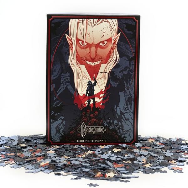 Mondo Castlevania Becky Cloonan Puzzle