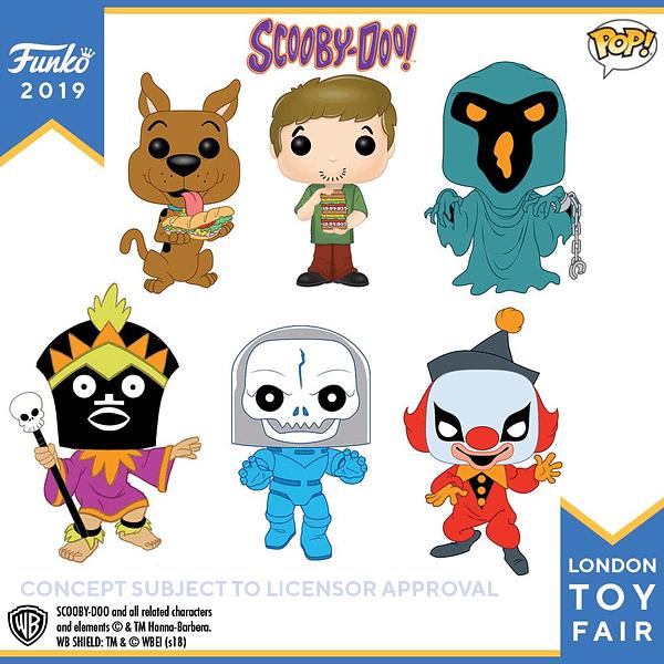 Funko London Toy Fair Scooby Doo 1
