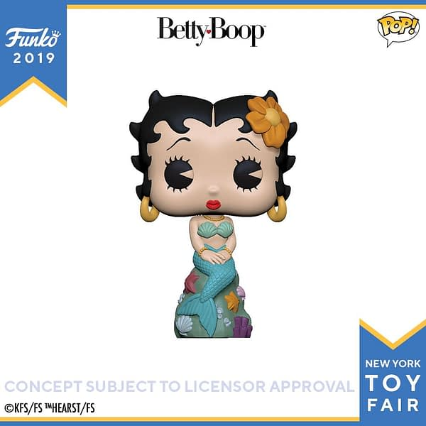 Funko New York Toy Fair Betty Boop Mermaid