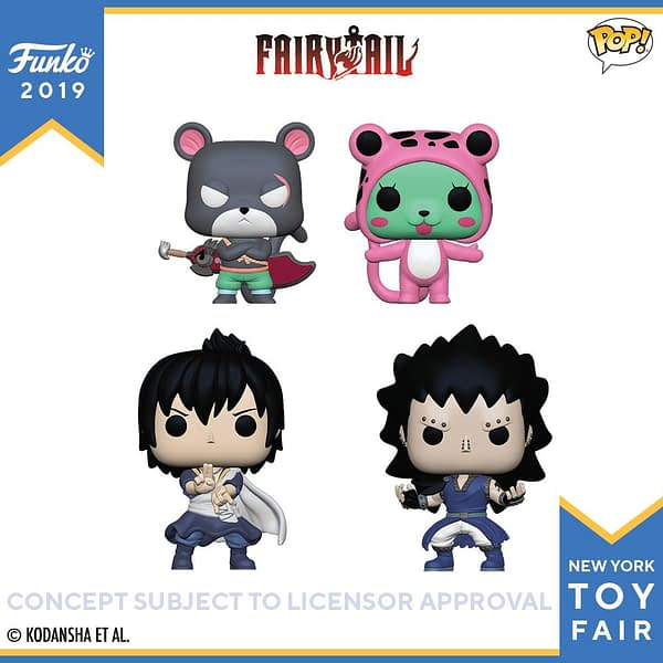 Funko New York Toy Fair Fairy Tail