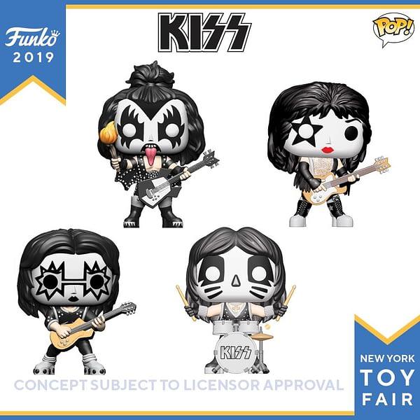 Funko New York Toy Fair Kiss