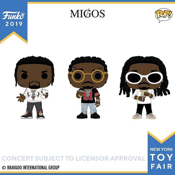 Funko New York Toy Fair Migos