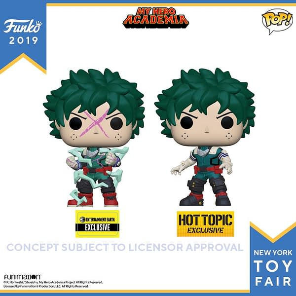 Funko New York Toy Fair My Hero Academia 2