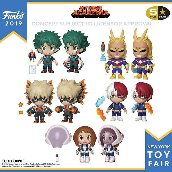 Funko New York Toy Fair My Hero Academia