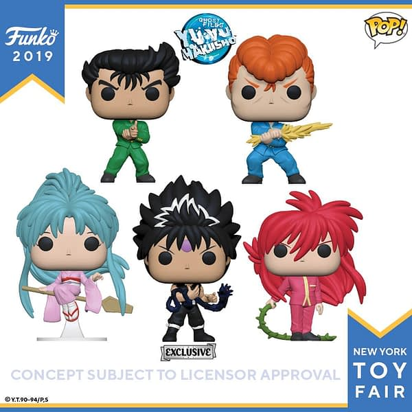 Funko New York Toy Fair Yu Yu Hakusho