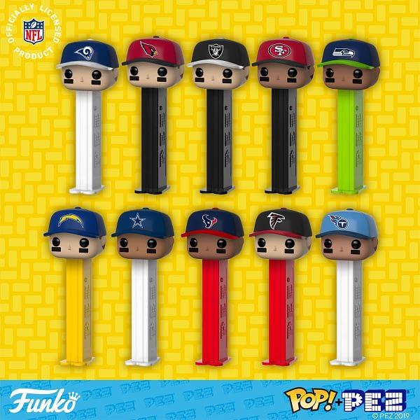 Funko Pop Pez NFL 2