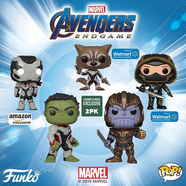 Funko Reveals a Ridiculous Amount of Avengers: Endgame Products