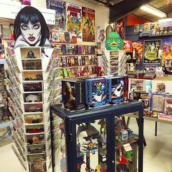 British Comic Store, Strange Attractors, Reopens in a Garden Centre