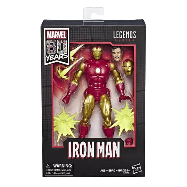 New Marvel Legends 80th Anniversary Figures Glam Shots