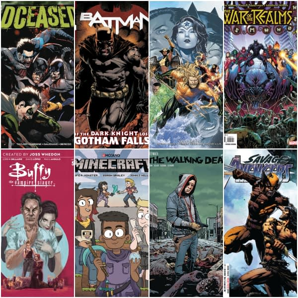 Tomorrow is Another Monster New Comics Wednesday